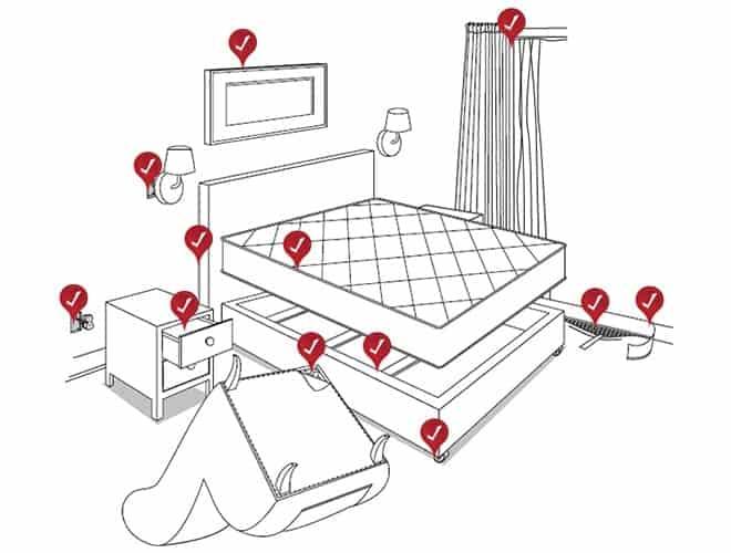 Где прячутся вонючие клопы в квартире