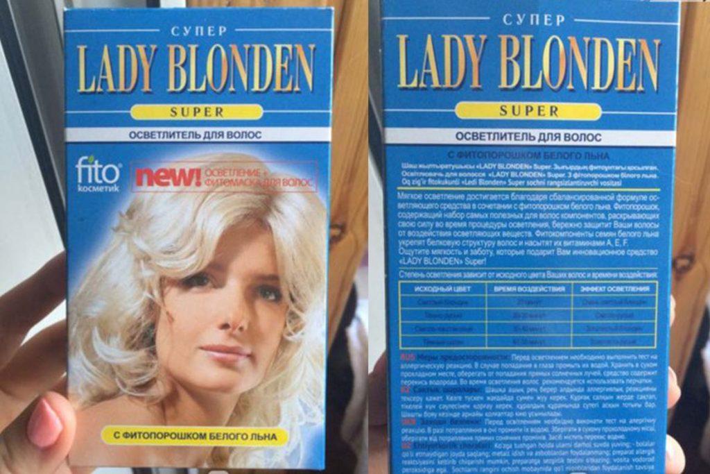 7 красок для волос – убийц вшей и гнид Lady Blonden