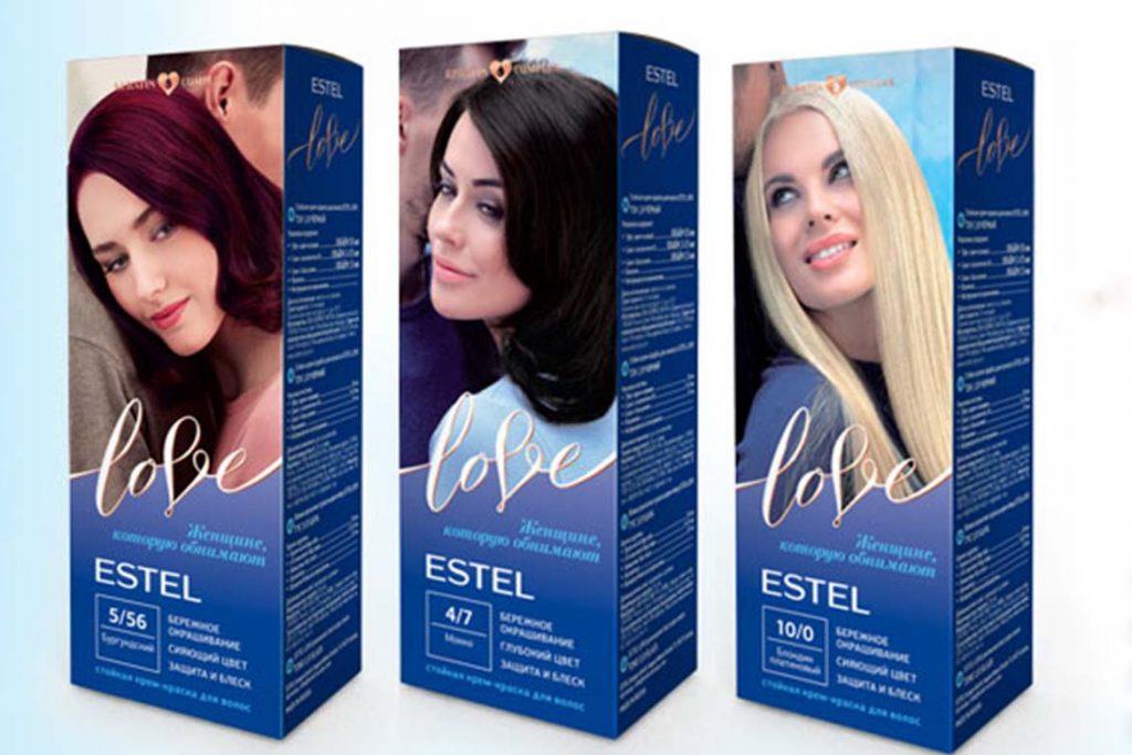 7 красок для волос – убийц вшей и гнид ESTEL Love