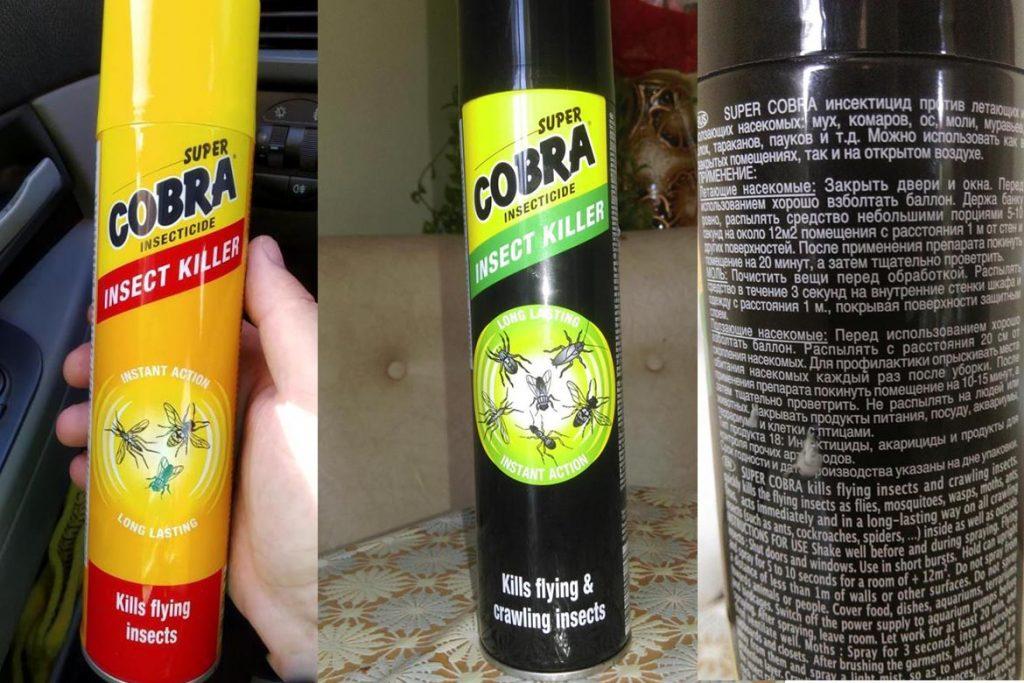 Эффективность Дихлофоса от клопов правила использования и отзывы кобра