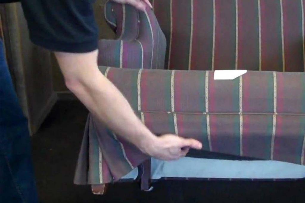 Клопы в диване как найти и вывести самостоятельно осмотр