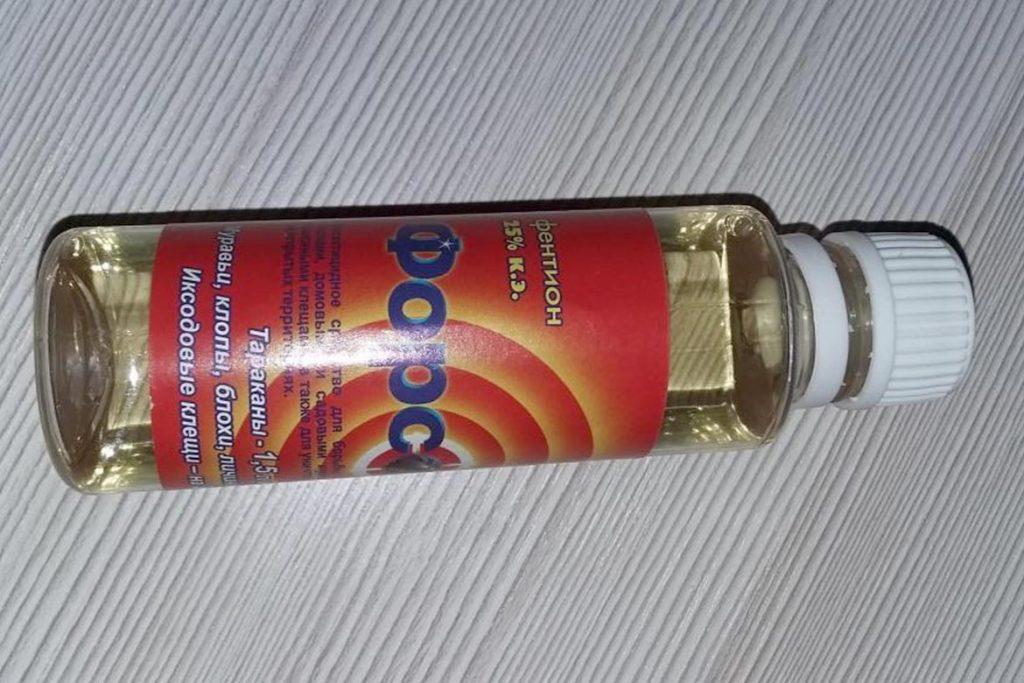 Средство Форсайт от клопов отзывы инструкция применения жидкость желтоватого цвета