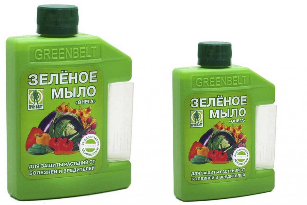 Как бороться с паутинным клещом  - зеленое мыло