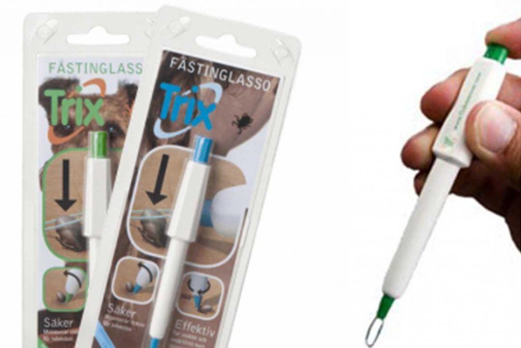 ТОП 16 приспособлений для вытаскивания клеща выкручиватели пинцеты ручка-лассо щипцы крючки Устройство для удаления клещей Trix, Швеция
