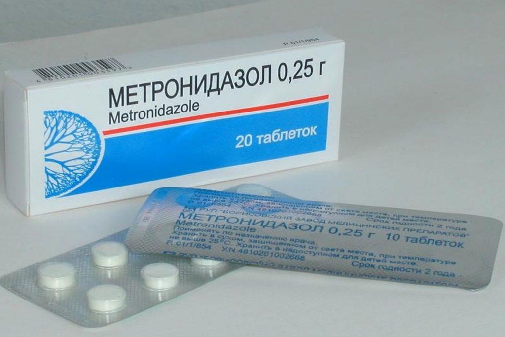 33 лучших средства от клещей – Метронидазол