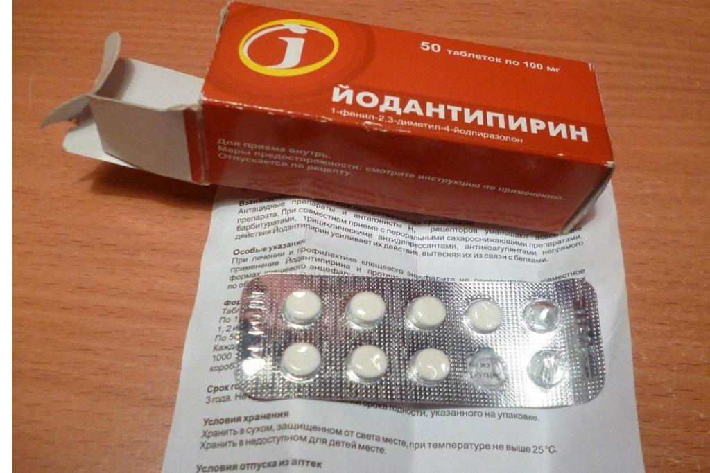 33 лучших средства от клещей – Йодантипирин