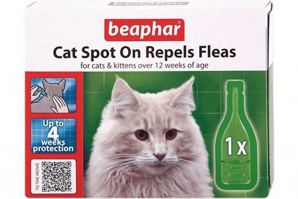 7 лучших капель на холку от клещей для кошек и котят Беафар