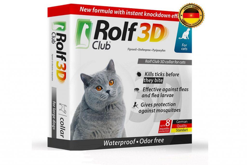 8 лучших ошейников от клещей для кошек и котят – отзывы Rolf Club 3d для котят