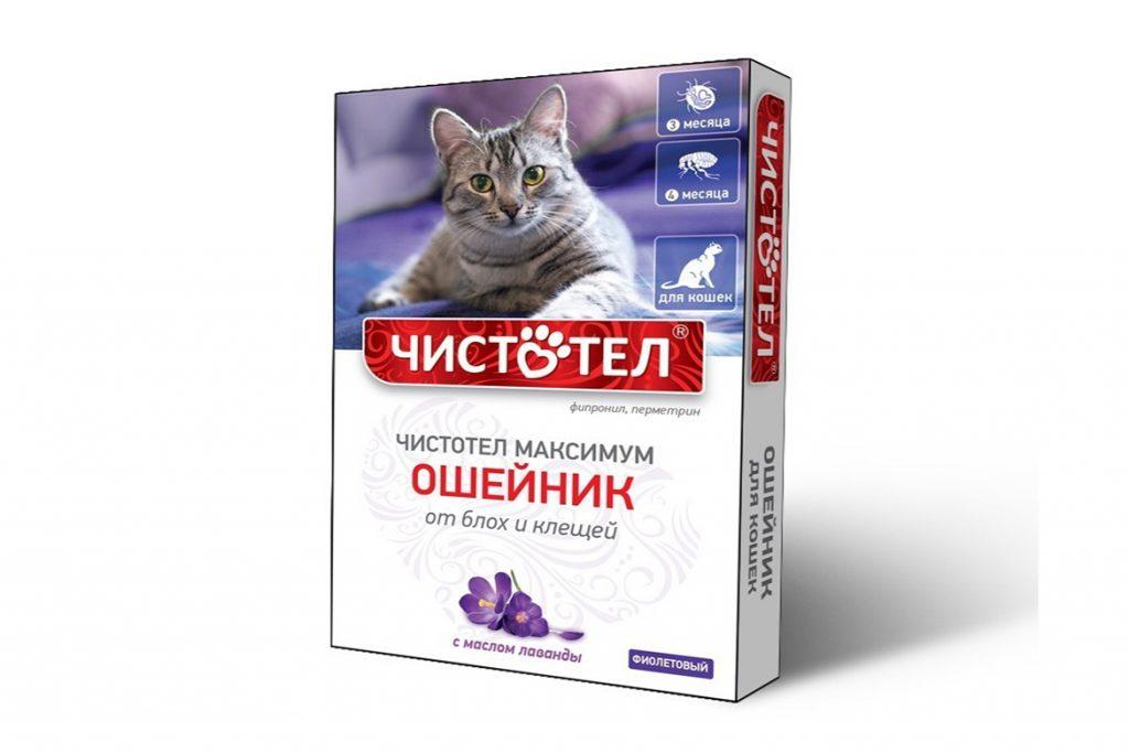 8 лучших ошейников от клещей для кошек и котят – отзывы Чистотел Максимум