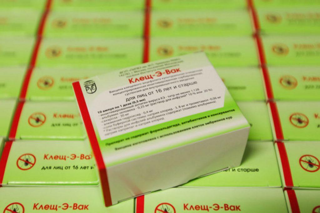 «Клещ-Э-Вак» вакцина от клещевого энцефалита - время вакцинации