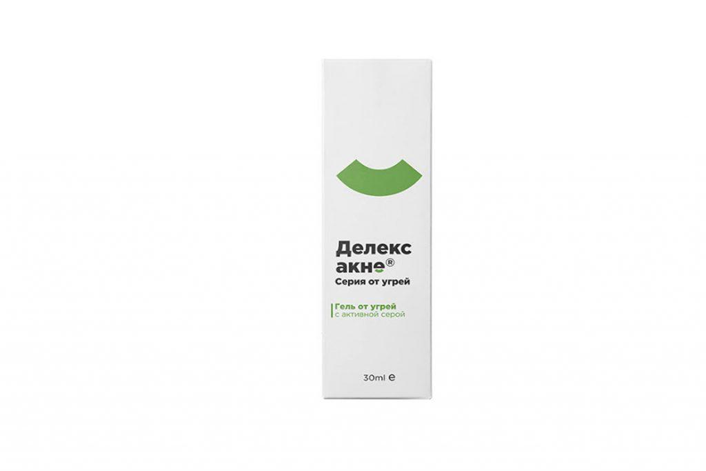 Подкожный клещ (Demodex) на лице у человека Гель Делекс-акне