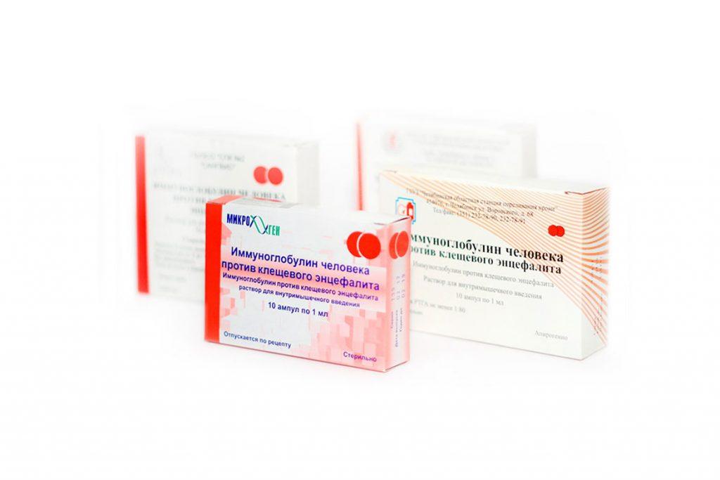Виды иммуноглобулинов против клещевого энцефалита - препараты