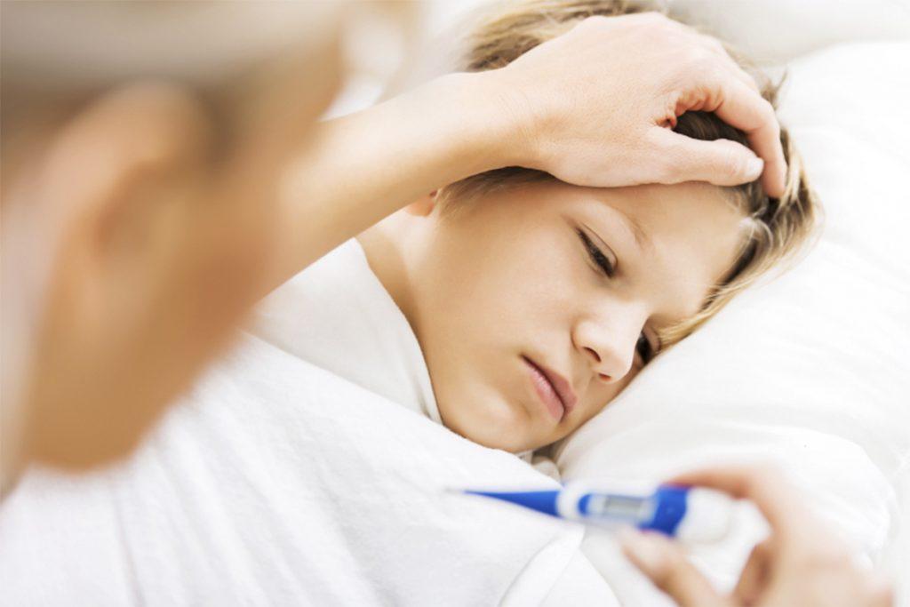 Повышение температуры тела после укуса клеща до 37 у ребенка