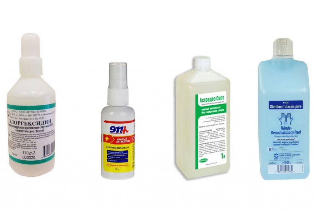 10 лучших видов антисептиков для рук медицинские