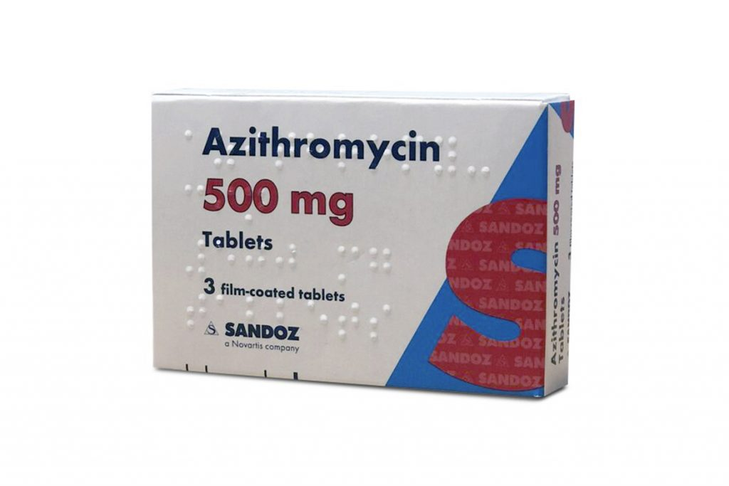 16 самых лучших антибиотиков и противовирусных средств, применяемых при укусе клеща – схема лечения, профилактика опасных заболеваний, Азитромицин