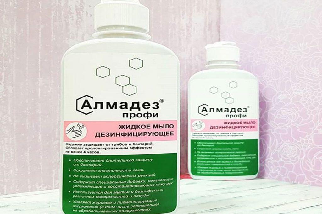 5 лучших антисептиков и дезинфицирующих средств - гель алмадез