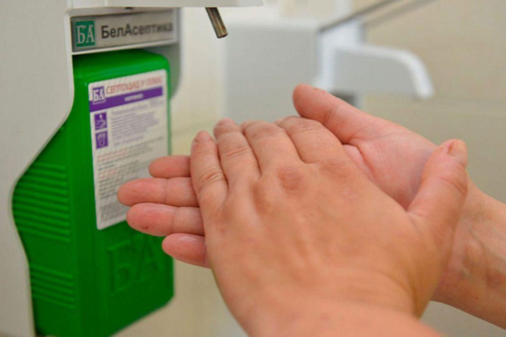 5 видов антисептиков с дозатором для рук - виды дозаторов