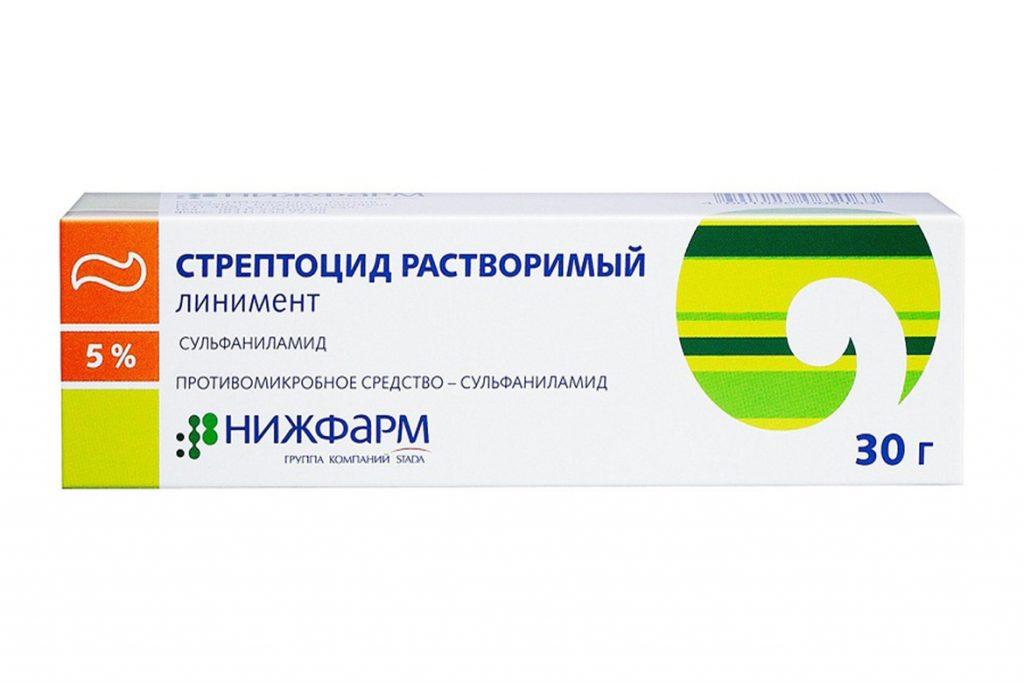 9 лучших средств для лечения демодекоза в домашних условиях, Стрептоцид