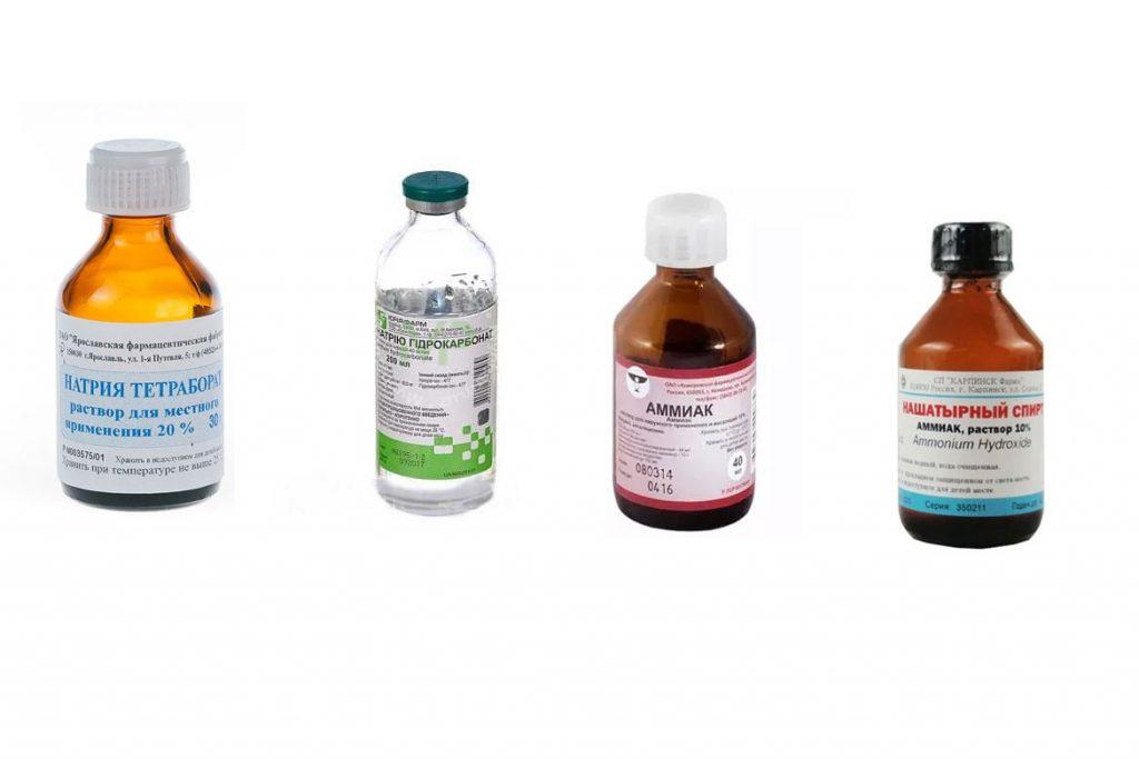 Антисептики и дезинфицирующие средства - щелочи