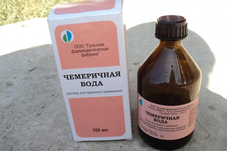 Чемеричная вода против педикулёза