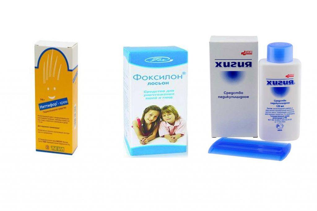 Как и чем вывести вшей у детей - препараты