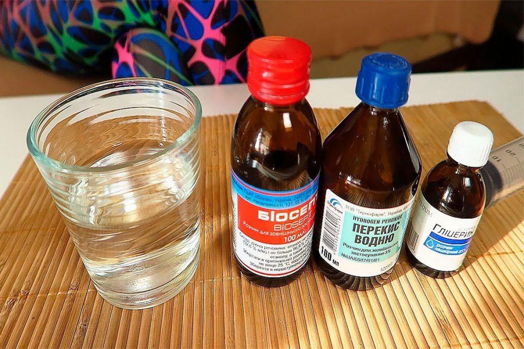 Как сделать кожный антисептик для рук своими руками - компоненты