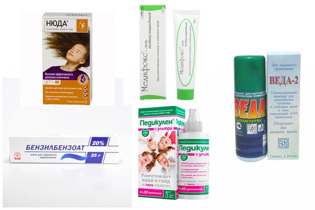 Лобковый педикулез: симптомы и лечение - Препараты