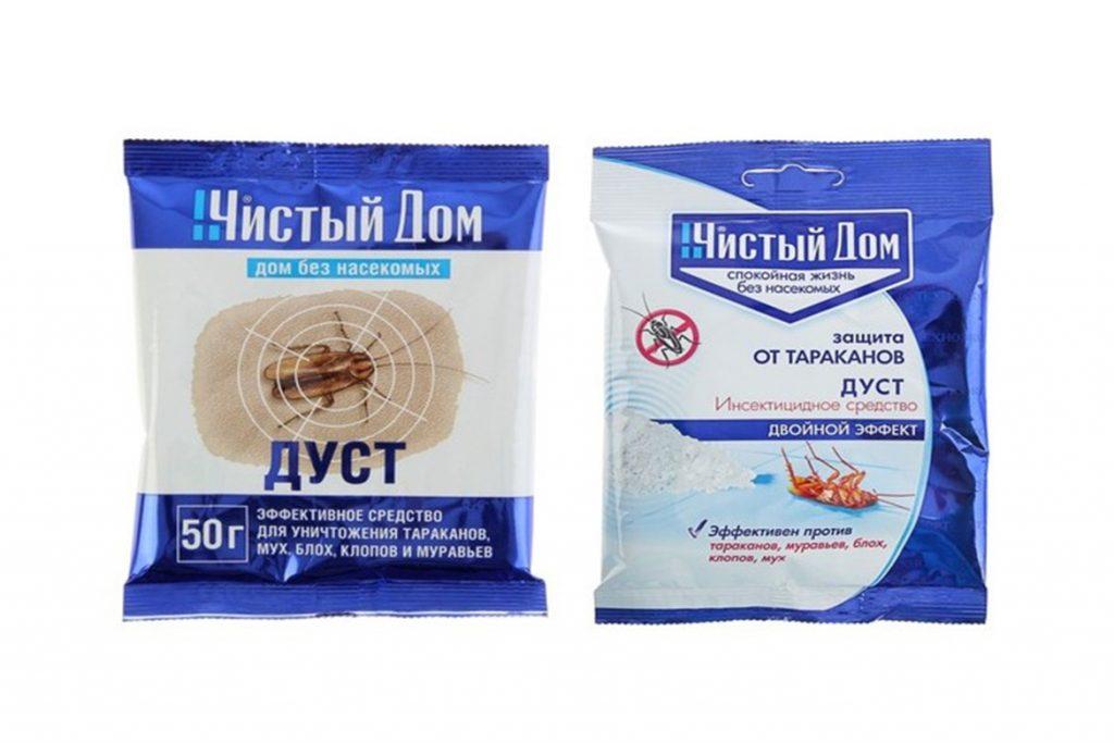 10 видов самой эффективной обработки (травли) тараканов в помещениях, дусты Фас Дубль, Чистый Дом