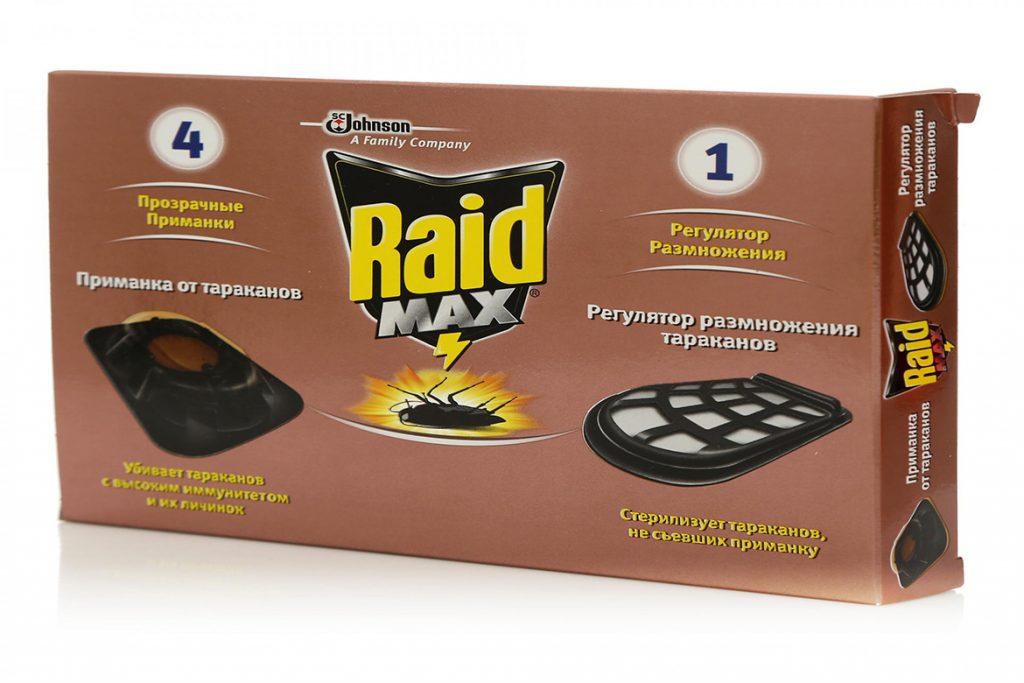 40 способов избавиться от тараканов в квартире и частном доме раз и навсегда, ловушки Raid Max