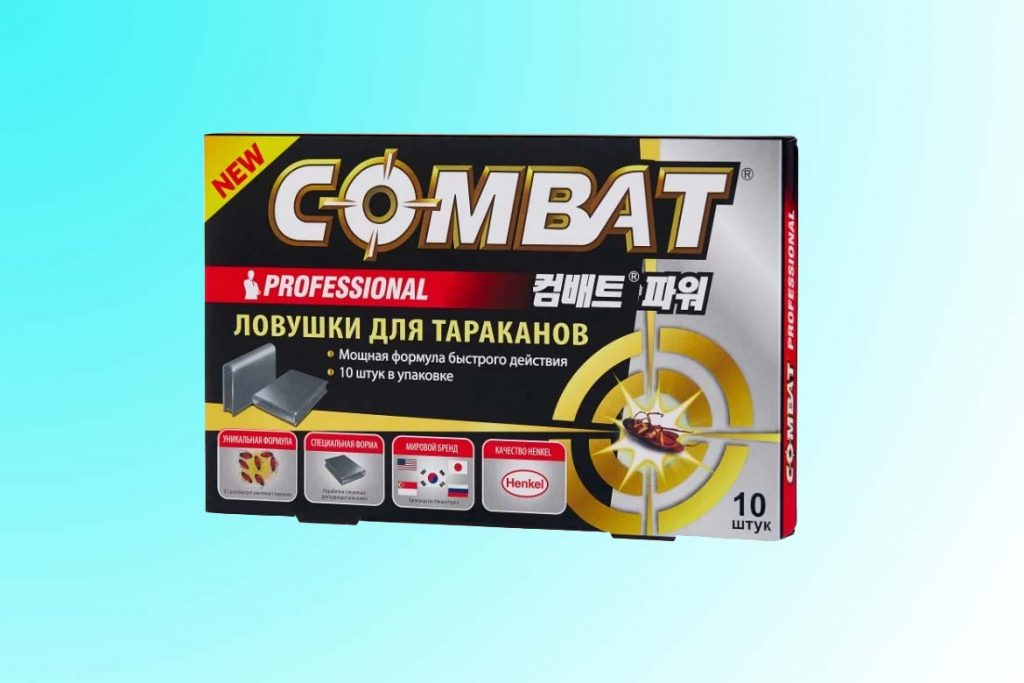 «Комбат» от тараканов — инструкция по применению, варианты средства, где купить, отзывы покупателей Combat Professional