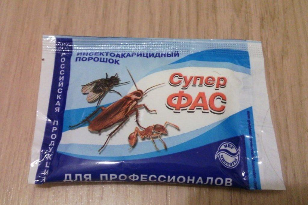 3 вида «Фас» от тараканов супер фас