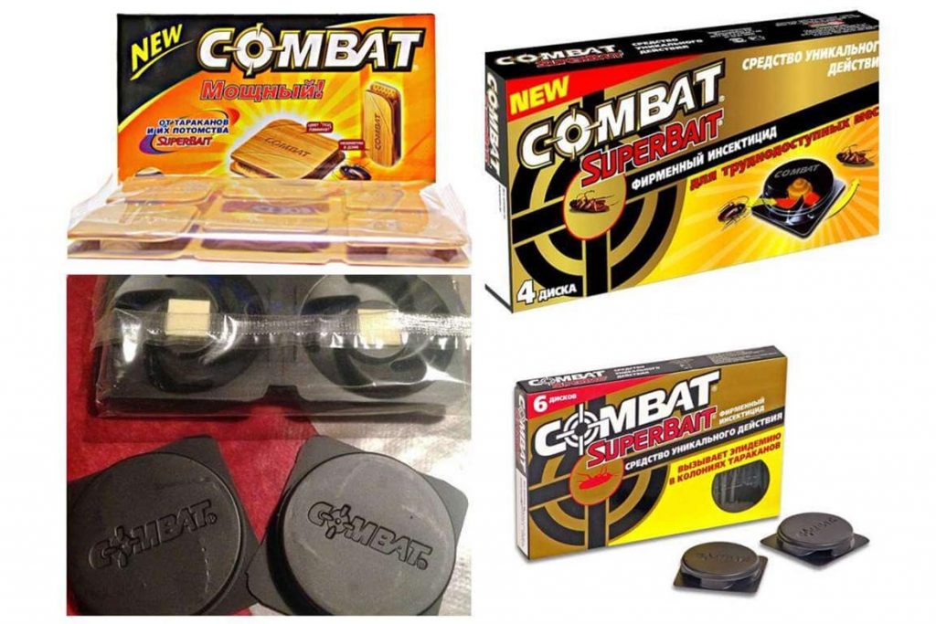 3 вида ловушек «Комбат» (Combat) от тараканов обзор популярных средств, отзывы, разновидности