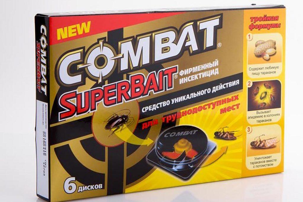3 вида ловушек «Комбат» (Combat) от тараканов обзор популярных средств, отзывы, SuperBait