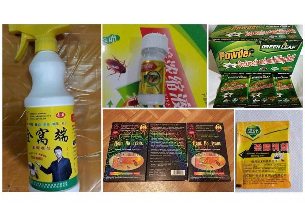 ТОП-8 лучших китайских средств от тараканов отрава в виде порошков, растворов, гелей, мелков, инструкция по применению, отзывы об использовании, особенности
