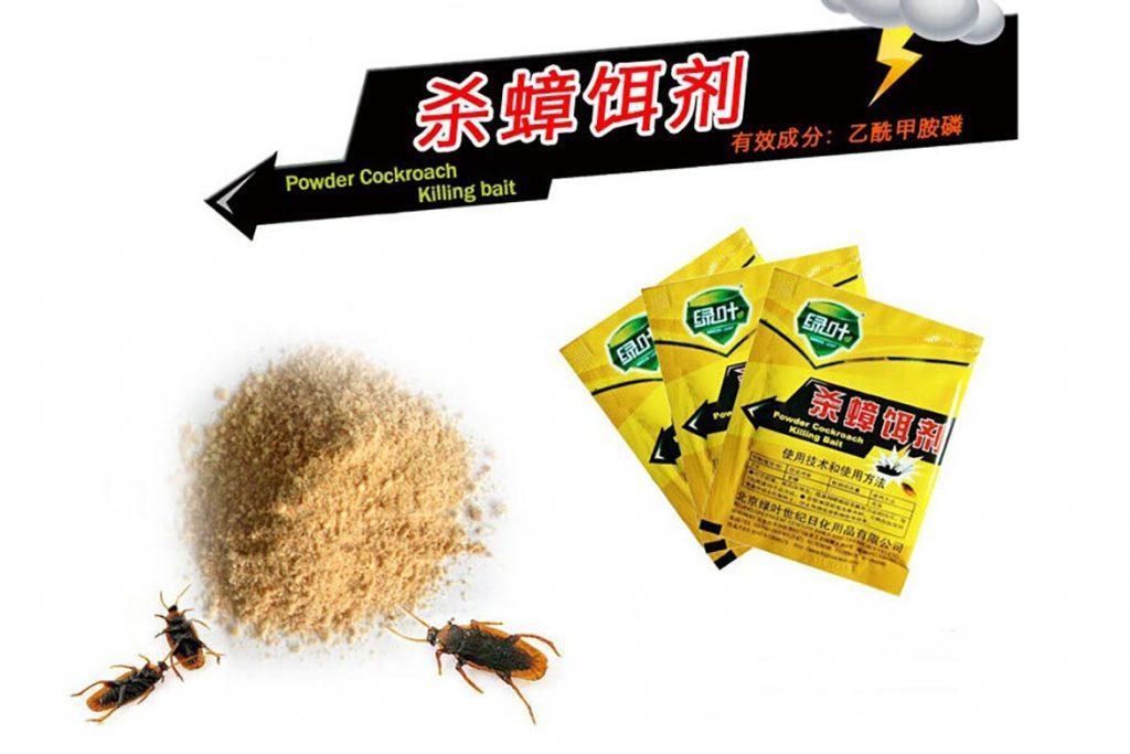 ТОП-8 лучших китайских средств от тараканов отрава в виде порошков, растворов, гелей, мелков, инструкция по применению, отзывы об использовании, Killing Bait
