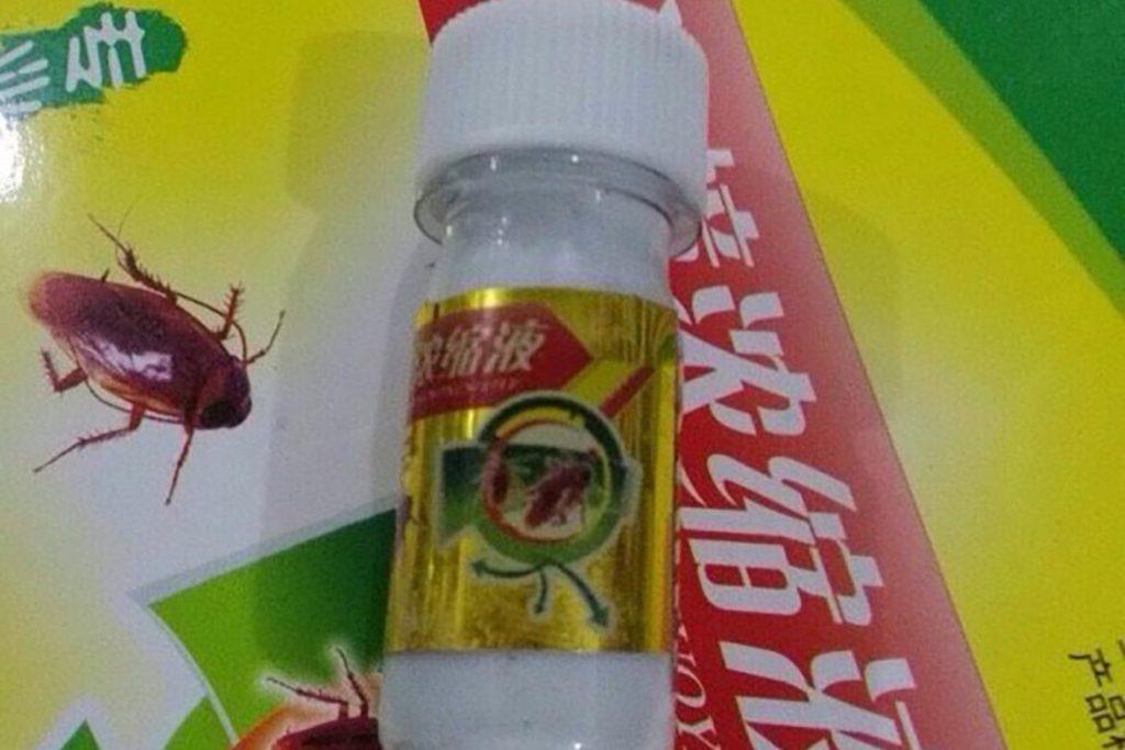 ТОП-8 лучших китайских средств от тараканов отрава в виде порошков, растворов, гелей, мелков, инструкция по применению, отзывы об использовании, Shazhangnongsuoye