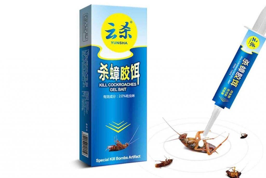 ТОП-8 лучших китайских средств от тараканов отрава в виде порошков, растворов, гелей, мелков, инструкция по применению, отзывы об использовании, гель-приманка Yunsha Kill Cockroaches Gel Bait