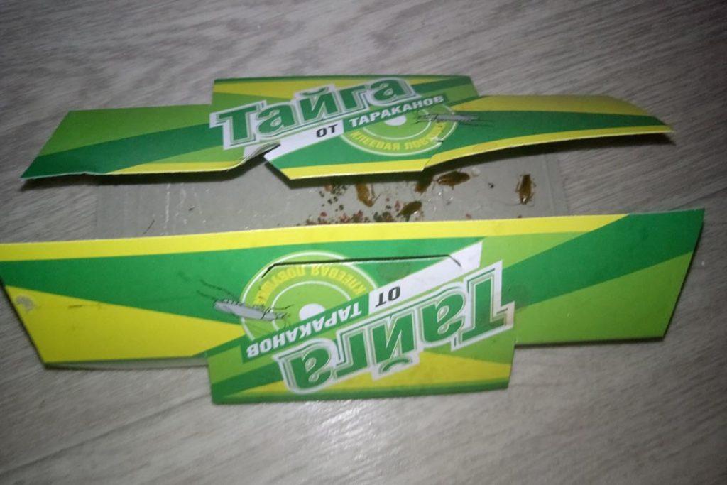 Клеевая ловушка «Тайга» для тараканов состав, принцип действия, где купить, отзывы покупателей, проверка