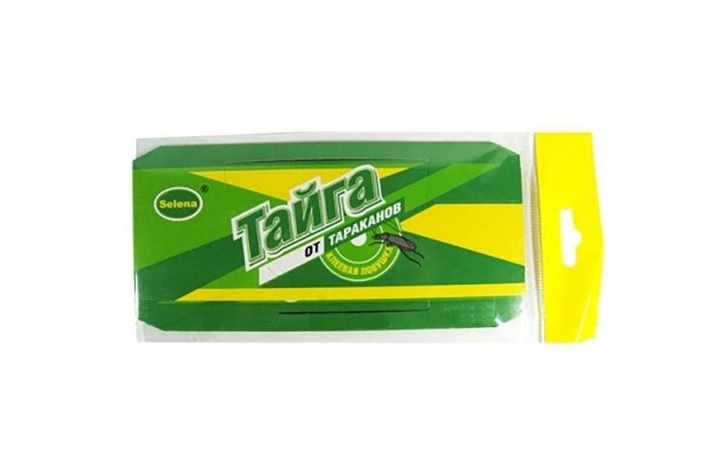 Клеевая ловушка «Тайга» для тараканов состав, принцип действия, где купить, отзывы покупателей, упаковка