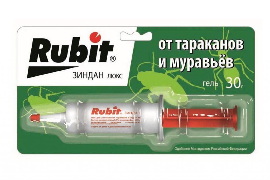 Линейка средств «Рубит» от тараканов обзор препаратов, инструкция по применению, отзывы об использовании, гель