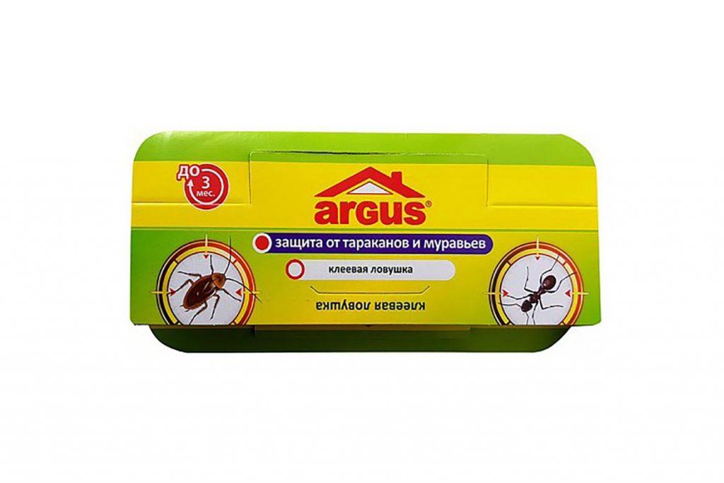 Ловушка для тараканов Аргус (Argus) – средство на клеевой основе, инструкция по применению, отзывы об использовании, как выглядит