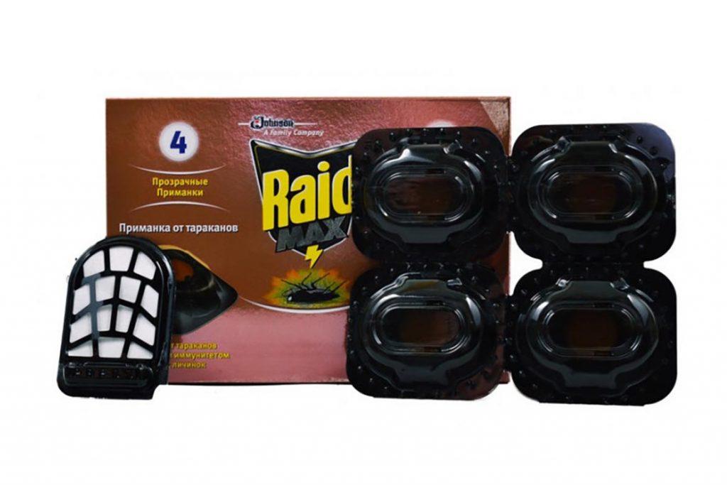 Ловушка для тараканов Рейд Макс (Raid max) безопасное использование и гарантированный эффект, отзывы о применении, инструкция