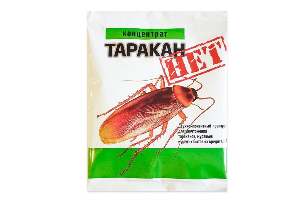ТОП-15 лучших порошков от тараканов обзор средств, инструкция по применению, отзывы об использовании, Таракан Нет
