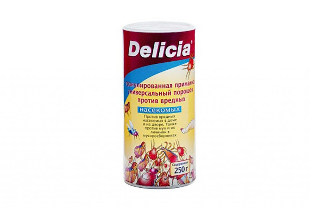 ТОП-5 лучших средств торговой марки Delicia против тараканов линзы, порошок, спрей, аэрозоль, боксы-приманки, отзывы об использовании 03